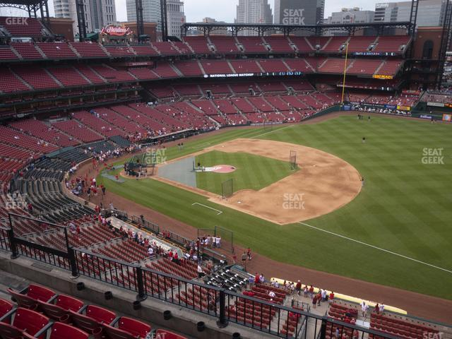 Busch Stadium First Base Pavilion 339 view