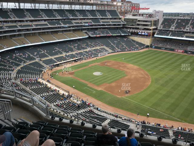 Target Field Section 305 view