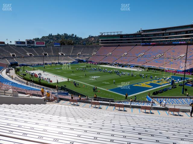 The Rose Bowl Upper 8 H view