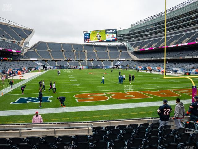 Soldier Field Section 124 view