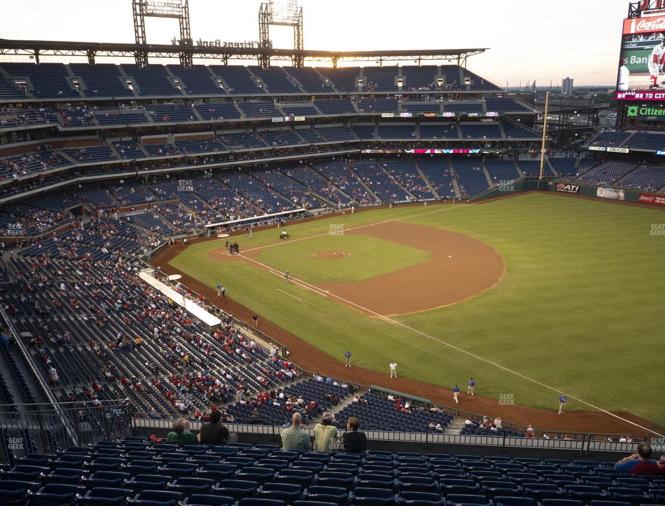 Philadelphia Phillies at Citizens Bank Park Section 310 View