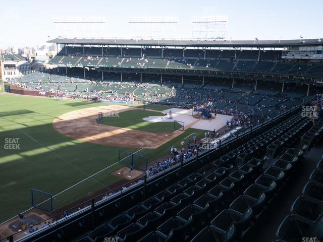Wrigley Field Section 305 Left view