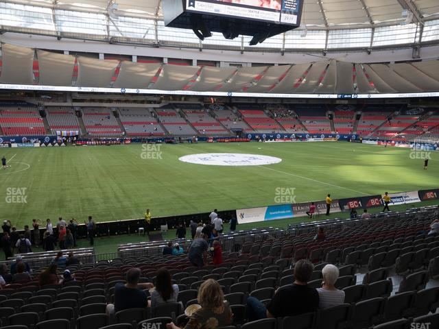 BC Place Stadium Section 244 view