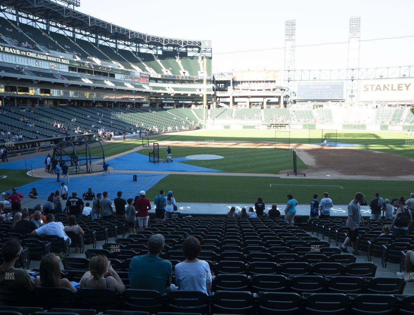 Chicago White Sox at Guaranteed Rate Field Section 125 View