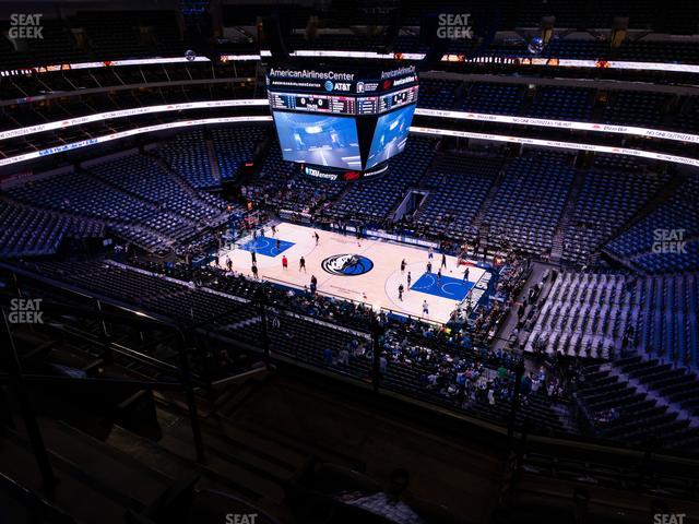American Airlines Center Section 307 view