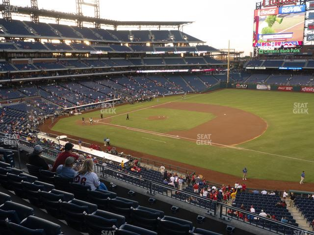 Citizens Bank Park Section 212 view