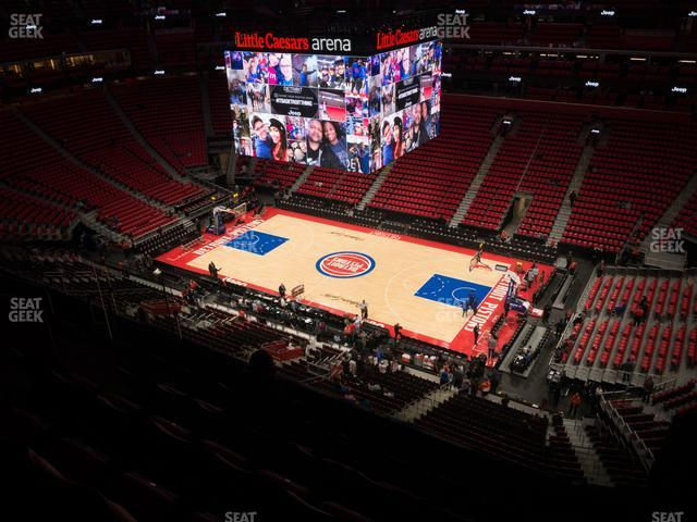 Little Caesars Arena Section 224 view