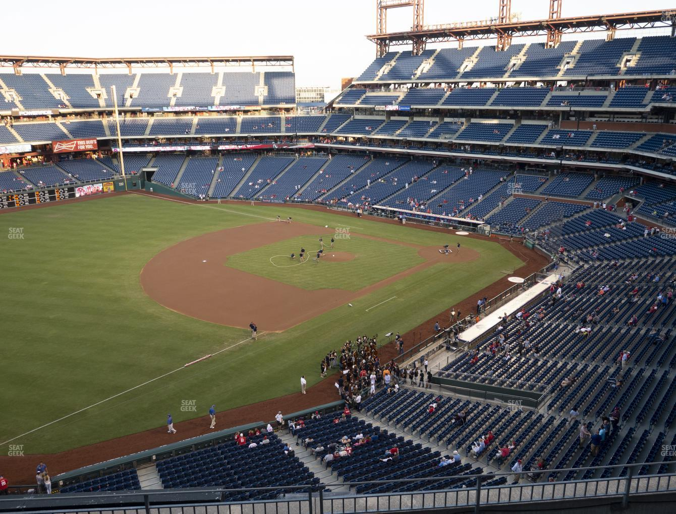 Philadelphia Phillies at Citizens Bank Park Section 330 View