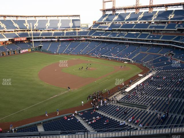 Citizens Bank Park Section 330 view