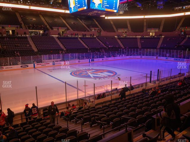 Nassau Veterans Memorial Coliseum Section 119 view