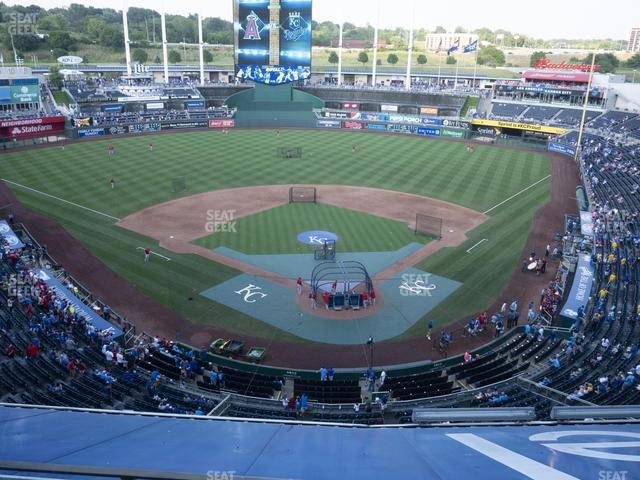Kauffman Stadium Section 419 view