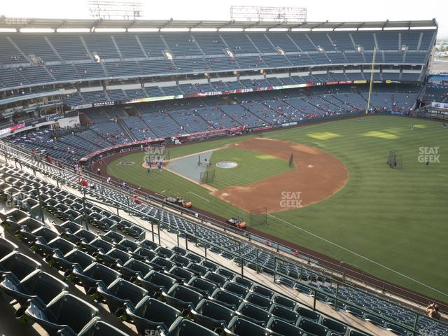 Angel Stadium of Anaheim Section 532 view