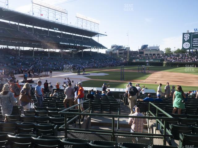 Wrigley Field Section 125 view