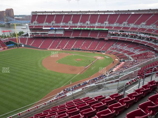 Great American Ball Park Section 511 view
