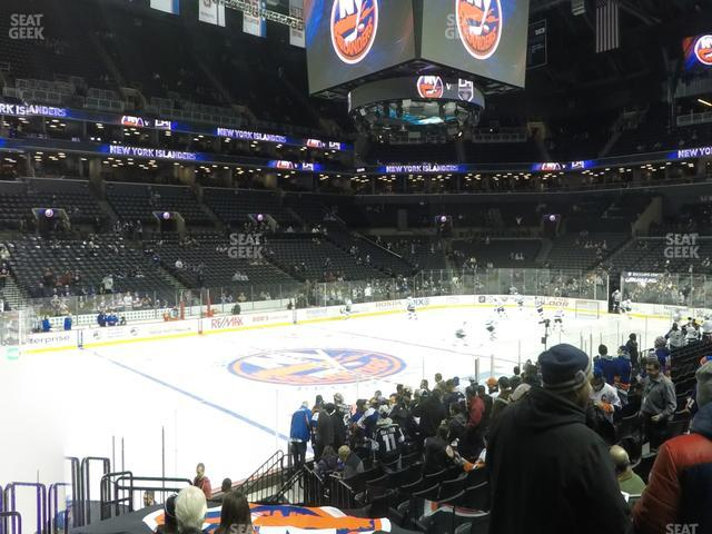 Barclays Center Section 28 view