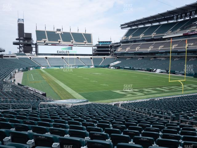 Lincoln Financial Field Section 107 view