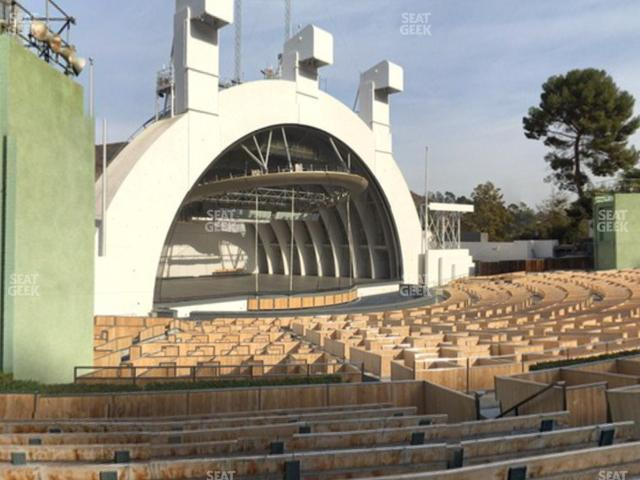 Hollywood Bowl Section E view