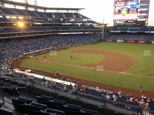 Citizens Bank Park Section 213 view