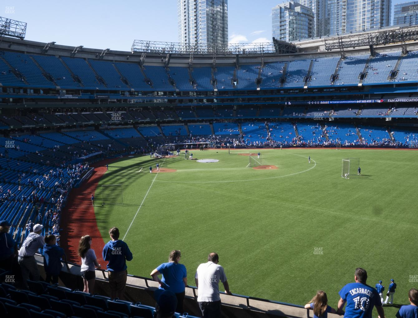 Toronto Blue Jays at Rogers Centre Section 208 R View