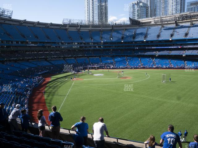 Rogers Centre Section 208 R view