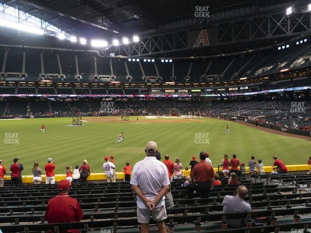 Chase Field Section 141 view