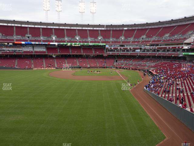 Great American Ball Park Section 405 view