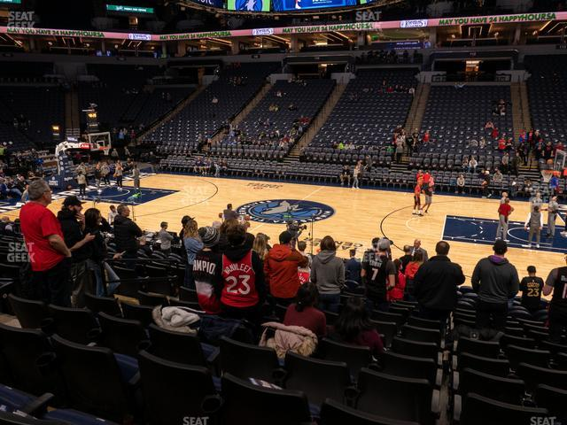 Target Center Section 130 view