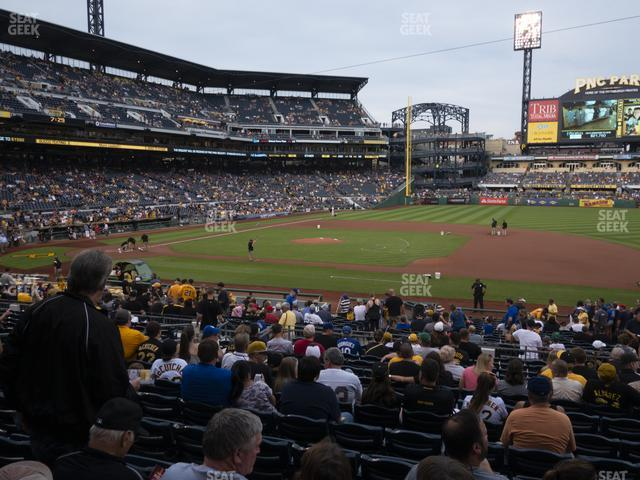 PNC Park Section 109 view