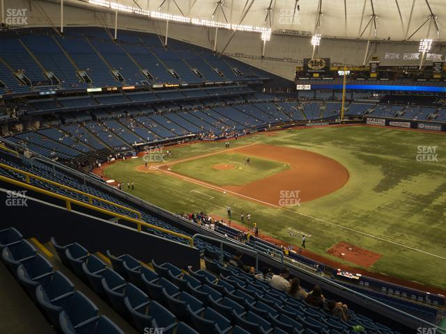Tropicana Field Section 320 view