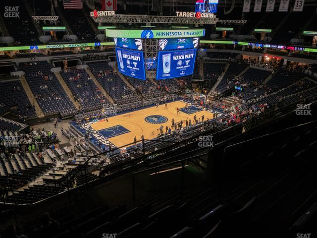 Target Center Section 235 view