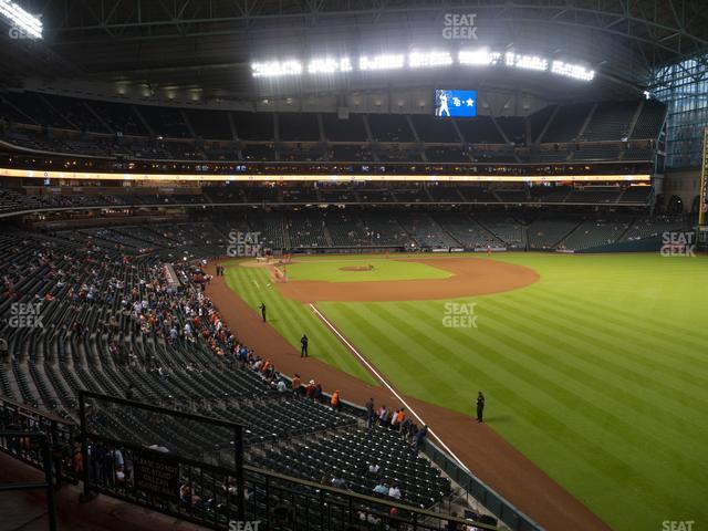 Minute Maid Park Section 235 view