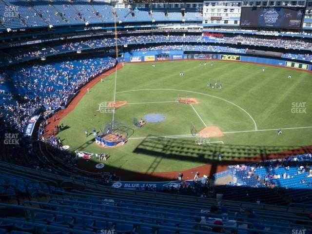 Rogers Centre Section 520 R view