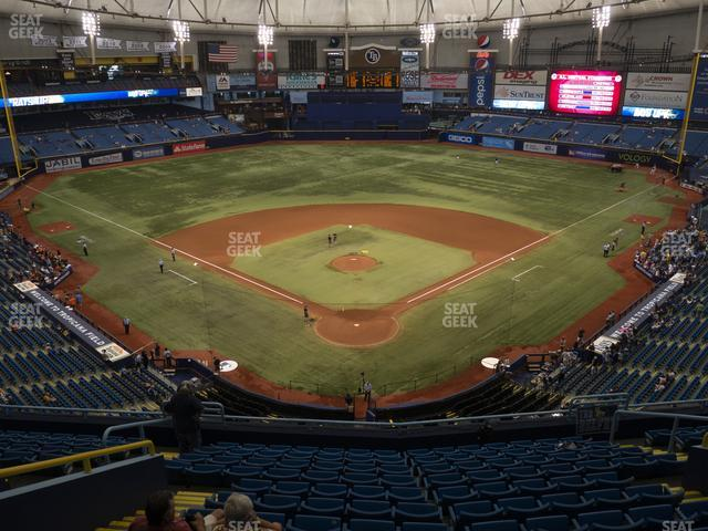 Tropicana Field Section 300 view