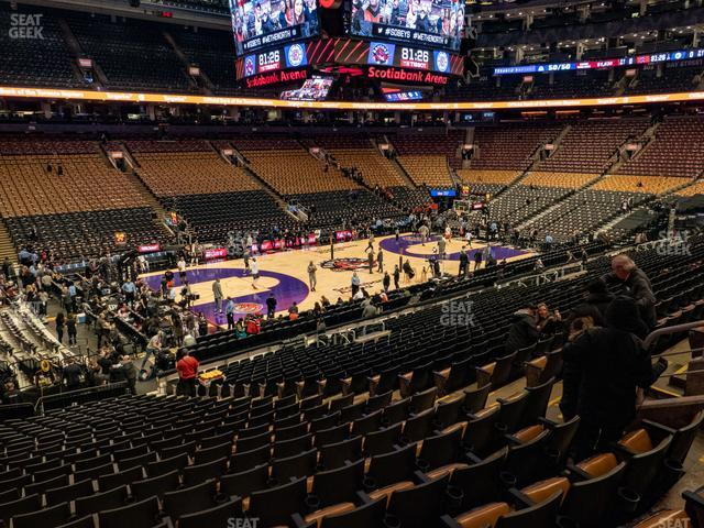 Scotiabank Arena Section 110 view