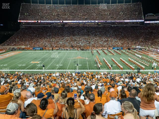 Darrell K Royal - Texas Memorial Stadium Section 28 view