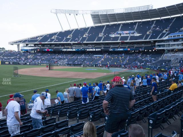Kauffman Stadium Section 113 view