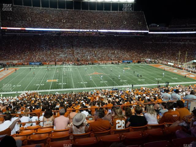 Darrell K Royal - Texas Memorial Stadium Texas Club 30 C view