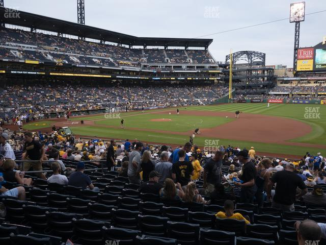 PNC Park Section 108 view