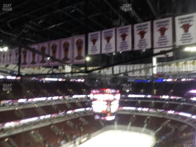 United Center Section 323 view
