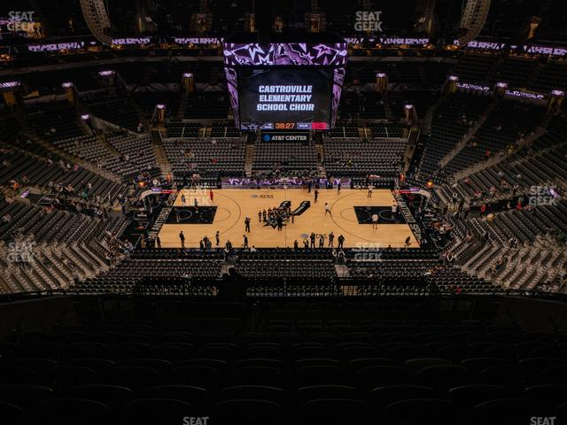 AT&T Center Section 224 view
