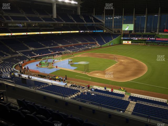 Marlins Park Section 207 view