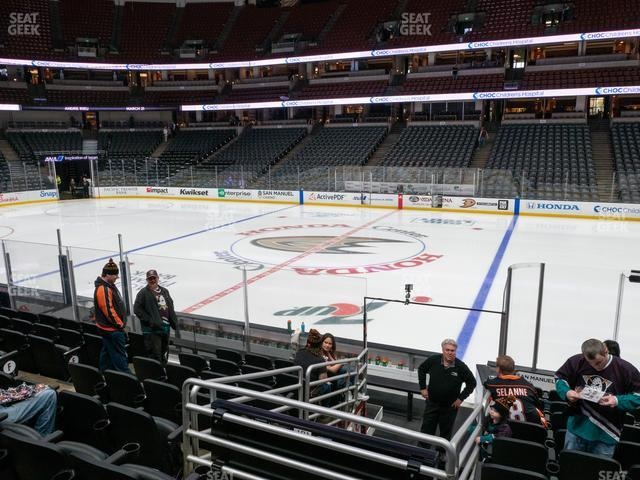 Honda Center Section 207 view