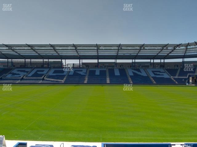 Children's Mercy Park W I S E Power Shield Club 108 view