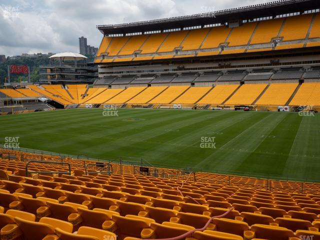 Heinz Field Section 114 view