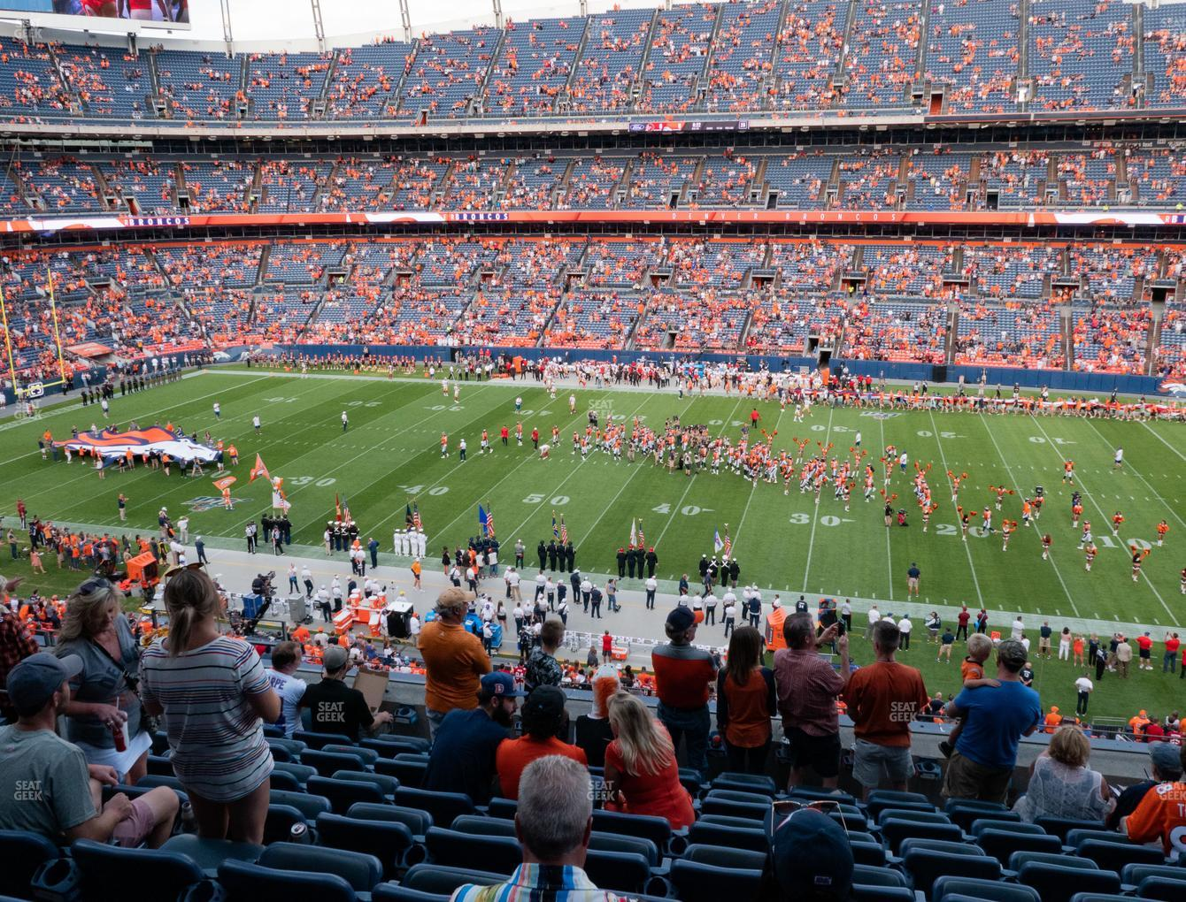 Denver Broncos at Empower Field at Mile High Section 307 View