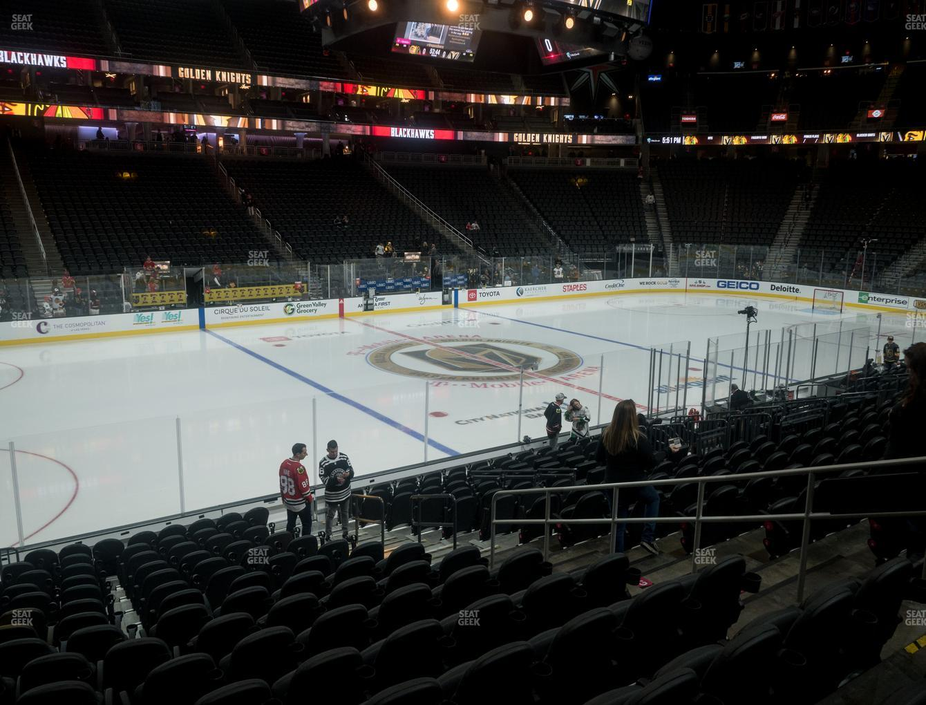 T Mobile Arena Section 14 Seat Views Seatgeek