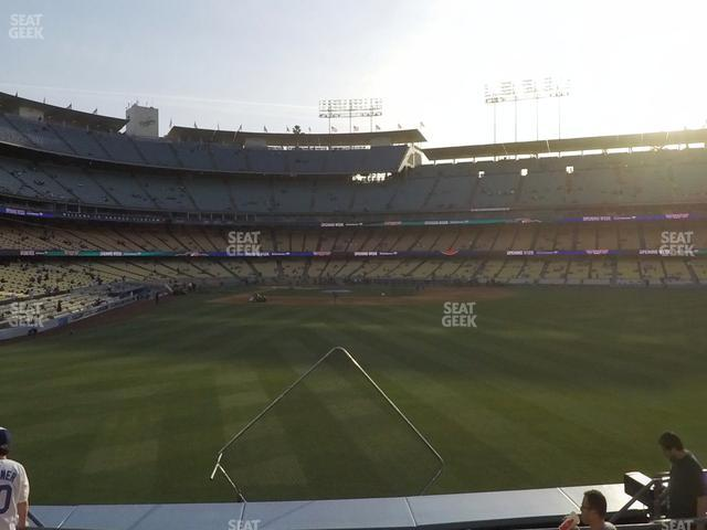 Dodger Stadium Right Field Pavilion 304 view