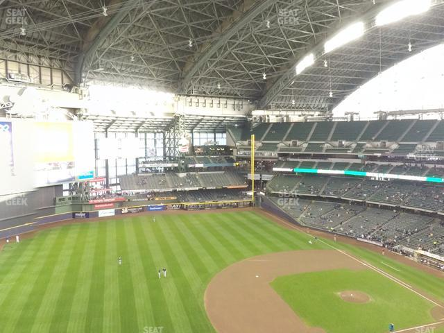 Miller Park Section 432 view