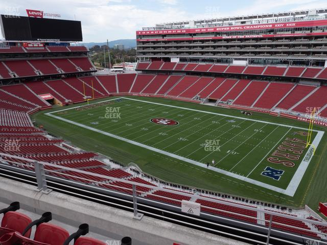 Levi's Stadium Section 310 view