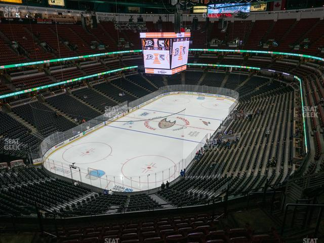 Honda Center Section 419 view